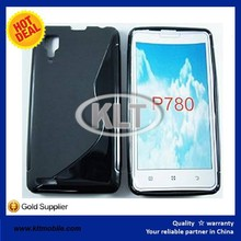 Free sample S line case for lenovo P780 tpu cover