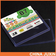 Filing Products PVC Hard Card Case A4 Document Holder
