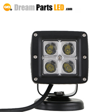 Automobile square spot flood 16w led head lights motorcycle driving lights