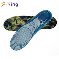Warshable and shock absorption gel shoe insoles foot inserts