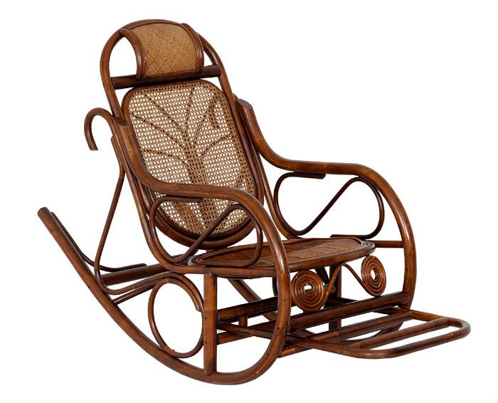 Rattan Rocking Arm Chair, AC-003