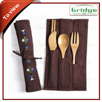 eco friendly bamboo dinnerware set
