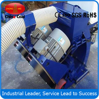 Concrete pavement shot blasting machine