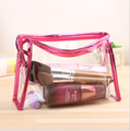 Transparent cosmetic bag ladies waterproof travel bag jewelry large capacity bag
