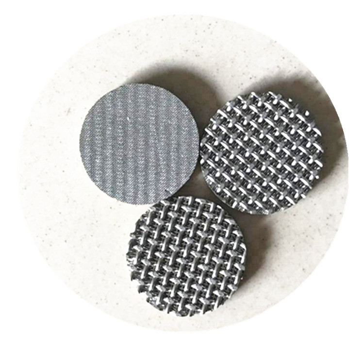stainless steel metal wire mesh cylinder sintered filter disc