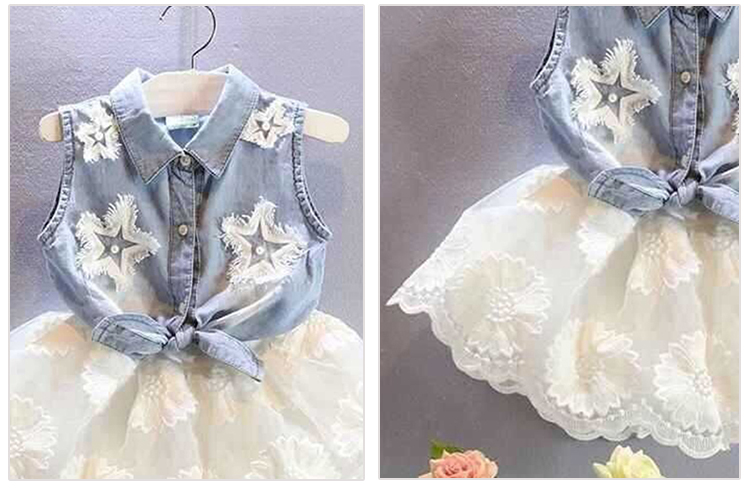 2017 cool design 6 year old beautiful girls baby net frock dress in short skirts