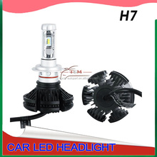 auto led headlight 3000K 6500K 8000K All in one led X3 Car LED Headlight Auto&motorcycles Headlamp Bulb H4 H7 H11 9006 9005