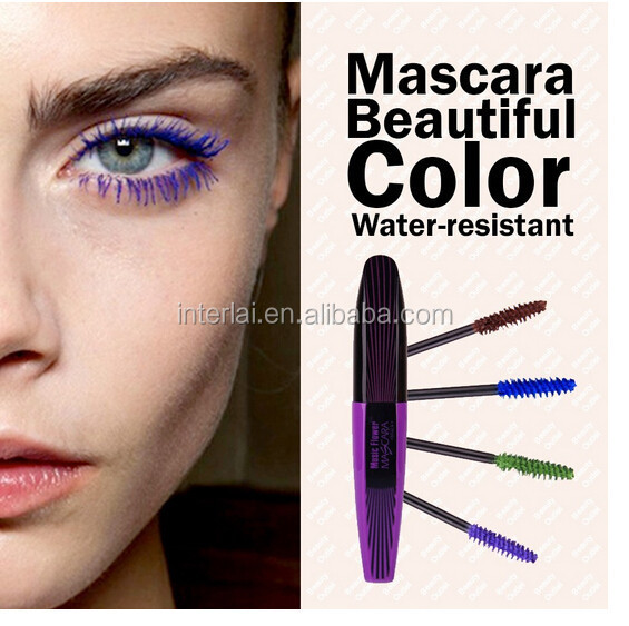 Music Flower Makeup Eyelashes Extension 5Colors Waterproof 3D Fiber Mascara For Eye Cosmetics M2054,guizhou