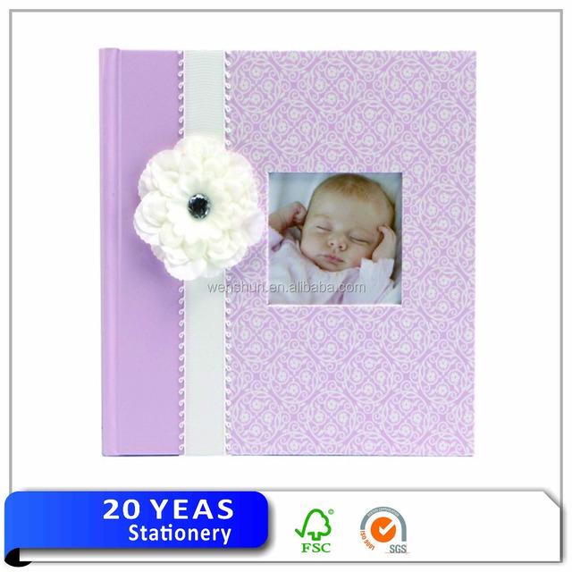 New design custom kids foto book foto album a4 baby photo album