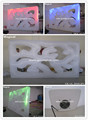customized removable LED light inflatable air wall divider decoration