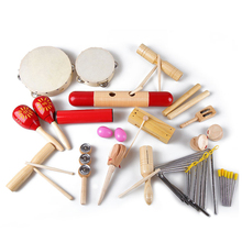 Kids 21 PCS Musical Instruments & Percussion Toy Rhythm Band Set