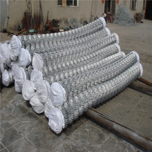 2016 hot whole sale cheap chain link wire mesh fence used for animal cages or garden fencing with factory price