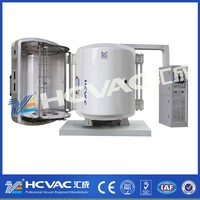 HCVAC Plastic decorative PVD evaporation vacuum coating plant,Aluminium deposition vacuum metallizing equipment