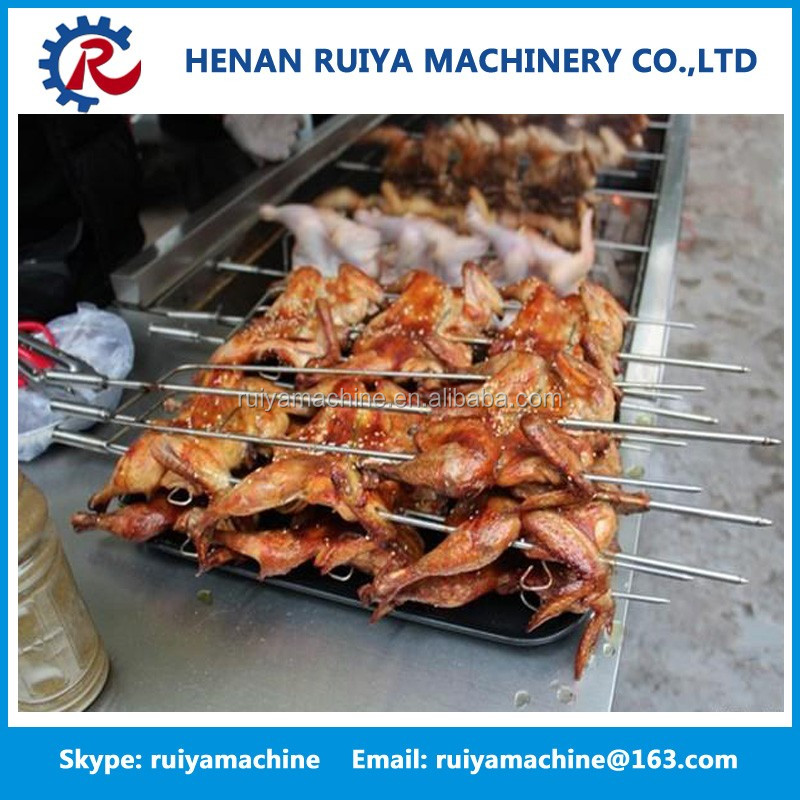 Hot Sale Charcoal Chicken Grill Machine| Electric Chicken Grill Machine