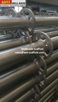 Galvanized Ringlock Scaffolding Standard to Europe