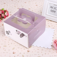 High quality custom muffin cup cake packaing paper box