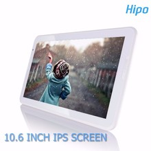 "Hipo A106T New Product Tablet Pc 10.6"" Ips Screen High Resolution 1366*768 Ipsallwinner A83T Octa Core 10.6 Inch Android 5.1 Tab"