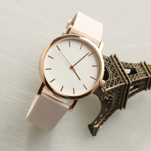 Top selling cute leather girl watch custom brand watch wholesale