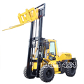 All New all terrain forklift truck cabin 4x4 , Automatic,Triple mast Max.5 meter lifting height, Side Shift, Solid Tire