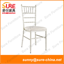 2015 High Quality Aluminum Wedding Stacking Tiffany Chair