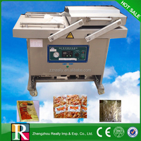 Continual work vacuum packing machine for food commercial with CE