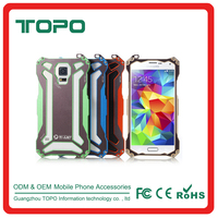 [TOPO]For Samsung Galaxy S5 Aluminum Metal Shockproof Waterproof Tough Mobile Covers Case