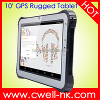 Rugged Tablet PC Android 4.4 or window 10 10.1 inch quad core RAM 2GB ROM 32GB 5.0MP Rear Camera 10000mAh Battery