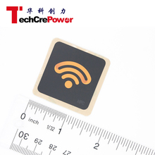 Writable 13.56mhz nfc tags,RFID NFC tag label stickers with and logo printing