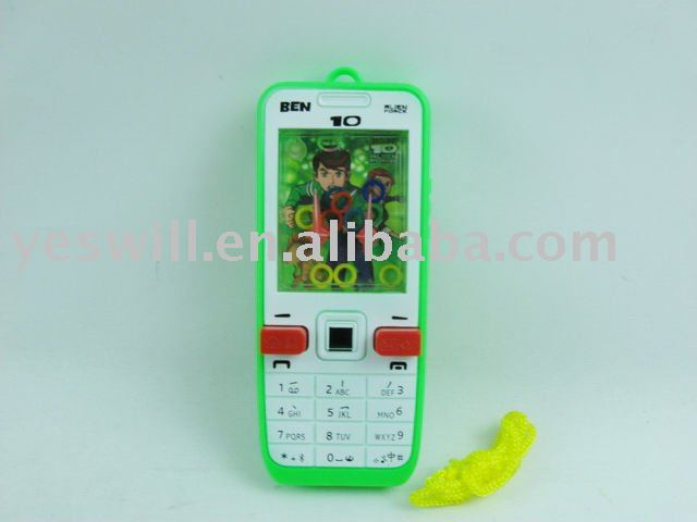 Water game toy Ben10 phone
