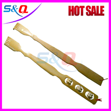 Natural Bamboo Body hand back scratcher massager