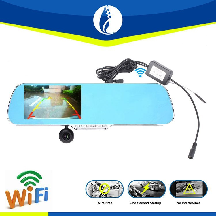 Wireless Wire Free Non Interference Gps Android Hd Dash Camera ...