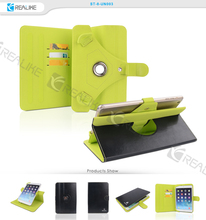 universal leather stand case cover for android tablet 7-8 inch; universal tablet shockproof case for samsung galaxy tab