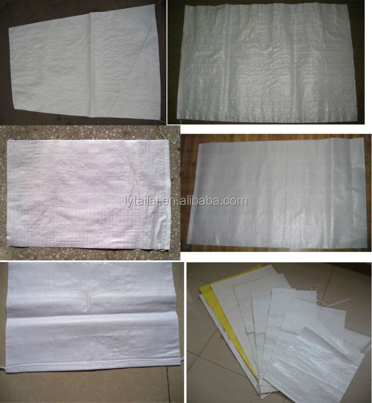 25kg 50kg PP woven sugar bag with 100% PP material