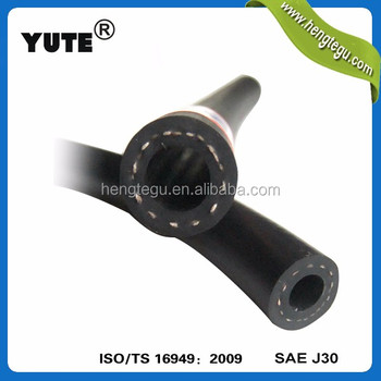 YUTE made auto part aftermarket nbr pet cr 7.5 mm fuel hose with iso/ts 16949