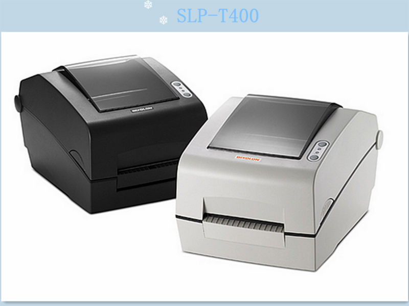 Bixolon SLP-T400 thermal barcode/label printer with auto cutter