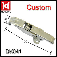 Wooden box metal toggle latch without key lock DK041