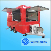 Fast Food And Beverage Application Mobile Cofee/Milkshake Vending Cart