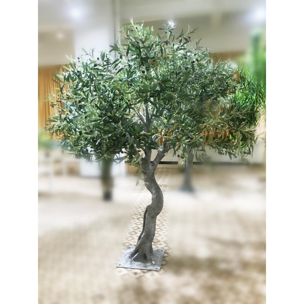Decorative Ornamental Large Artificial Tree Artificial Plastic Olive Tree