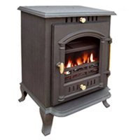 Wood burning cast iron stoves
