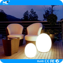 LED BALL High quality waterproof color changing rechargable led light ball / led egg ball light / RGB led ball for decoration