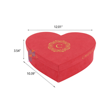 flower ribbon gift large heart shaped boxes wholesale
