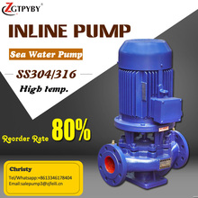 High-rise building pipeline booster water pump vertical single stage booster centrifugal pump