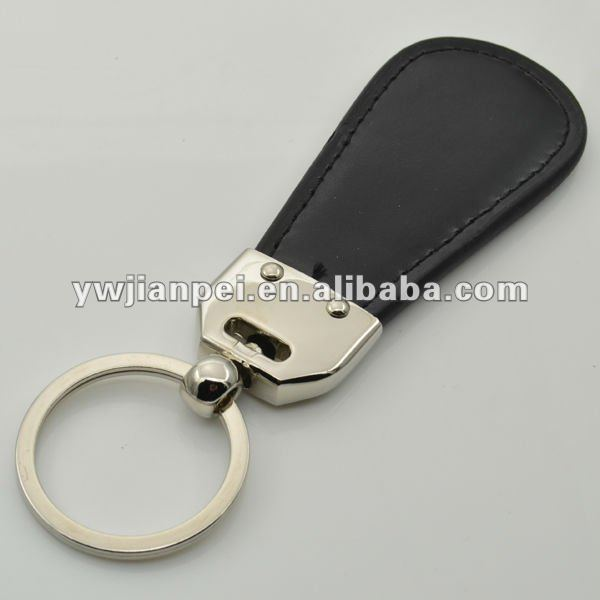 Giveaway Leather Keyring With Deboss Logo