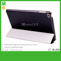 Oceandeep PU+PC Flip Cover for iPad mini