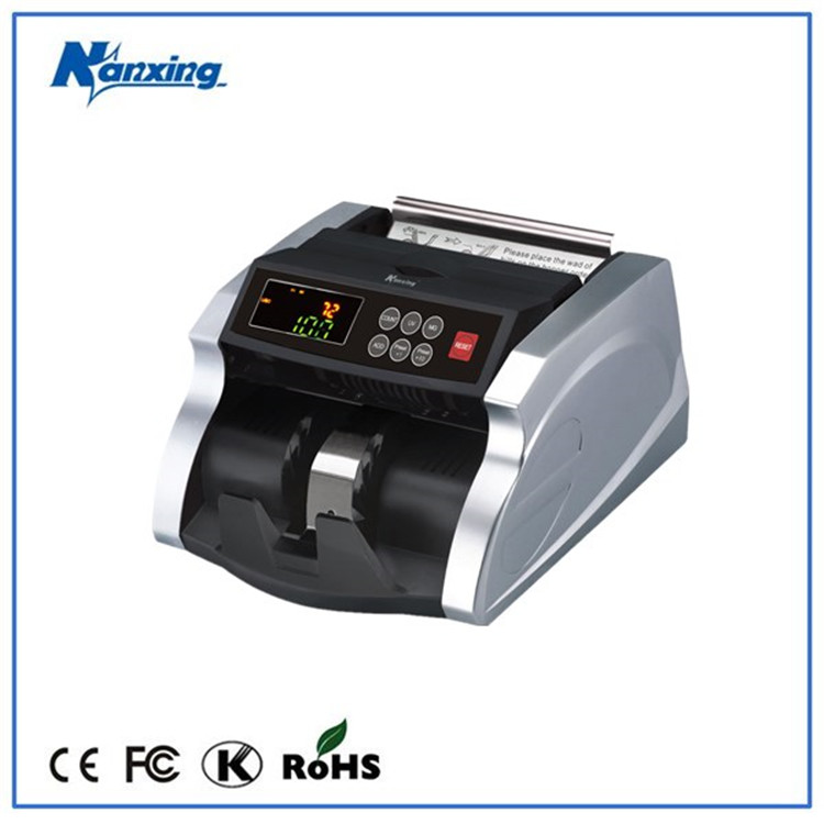 bank professional UV And MG Automatic Bill Counter money counter and detector