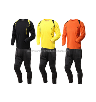 Best Selling Soften Soccer Goalkeeper Uniform