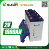 Bluesun 2v sealed lead acid battery 1000ah with ISO CE ROHS Certificate