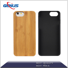 Carbonized mobile phone case handmade 4.7 inches wooden cell phone case