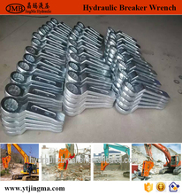 high quality used in hydraulic breaker Ring Slogging Spanner