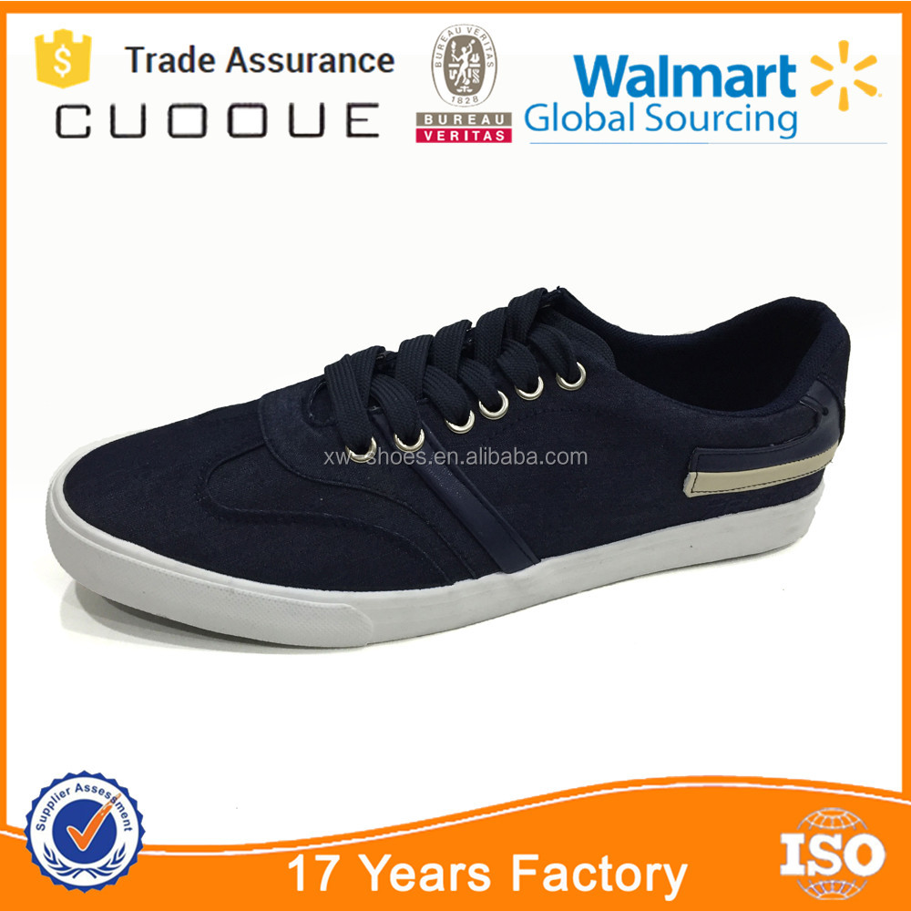 Canvas Sneaker Navy Blazer, Men's Low-Top Sneakers